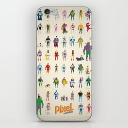 Pixel Nostalgia iPhone Skin