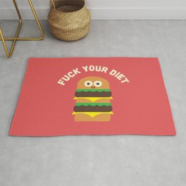 Discounting Calories Rug