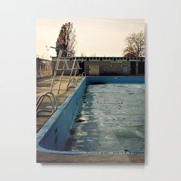 Piscine Jarry Metal Print