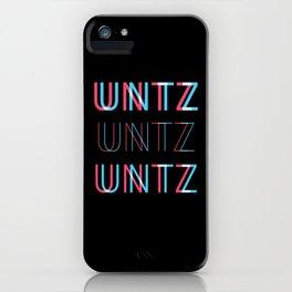 Untz Untz Untz Festival iPhone Case