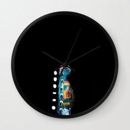 Space Guitar Wall Clock