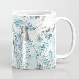 Split Wood Textile Coffee Mug