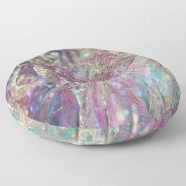 Prismatic Ocean of light II Floor Pillow