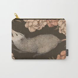 The Opossum and Peonies Tasche