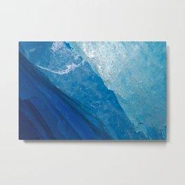 glacial ice 4 Metal Print