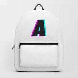 MONOGRAM LETTER A  Backpack
