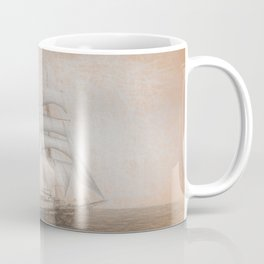 Atlantis Sailing Ship da Vinci Coffee Mug