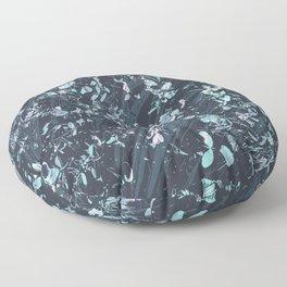 Glass Garden Floor Pillow