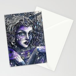 Goddess Nyx Stationery Cards