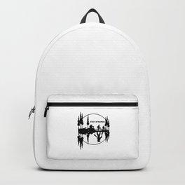 Stay Strange black Backpack