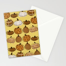 Pumpkin Party in Honey Stationery Cards