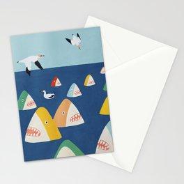 Shark Park Stationery Cards