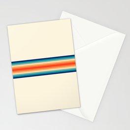 Palau - Classic Retro 70s Vintage Style Stripes Stationery Cards