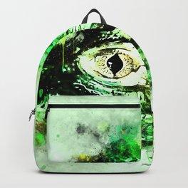 alligator baby eye wsw Backpack