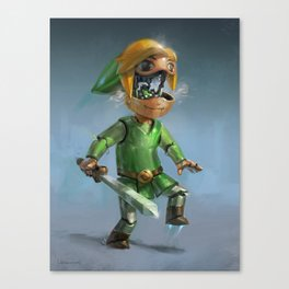 Link to the Future Canvas Print