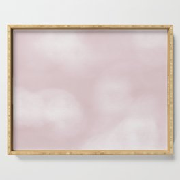 Pink Clouds Serving Tray