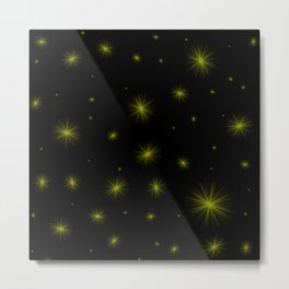 Stardust digital art pattern design! Metal Print