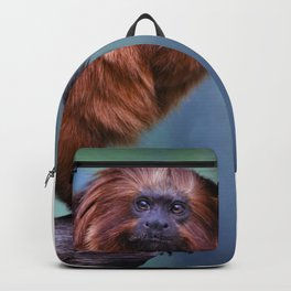 Golden Lion Tamarin Backpack