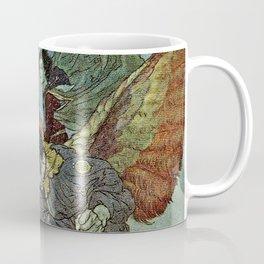 """""""East Wind"""" by Edmund Dulac Coffee Mug"""