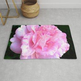 Pretty Pink Rose Rug