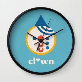 Cl*wn (Study 20201112) Wall Clock