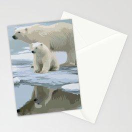 Bears family Stationery Cards