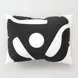 Record Spider Pillow Sham