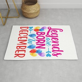 december birthday quotes Rug