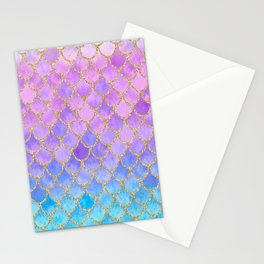 Pretty Mermaid Scales 07 Stationery Cards