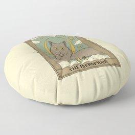The Hierophant Floor Pillow