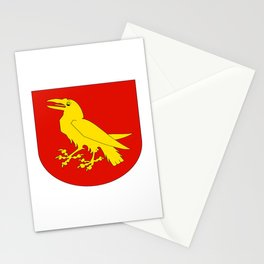 flag of Moss Stationery Cards