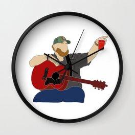 Luke Combs Wall Clock