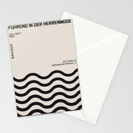BAUHAUS art, interior, matisse, picasso, drawing, decor, design, bauhaus, abstract, decoration, home Stationery Cards