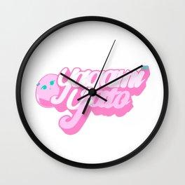 Yagami Yato Logo Wall Clock