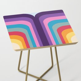 Retro Rainbow 02 Side Table