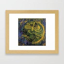 Dragonfly Dance #4 Framed Art Print