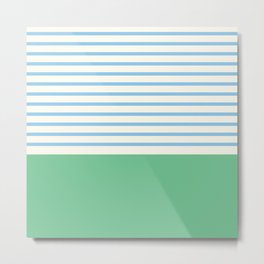 Narrabeen Stripe Metal Print