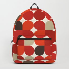 Seventies style petals Backpack