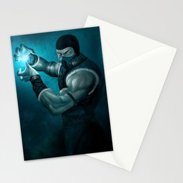 Sub-zero mk game Stationery Cards