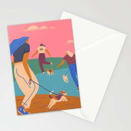 In the park Stationery Cards