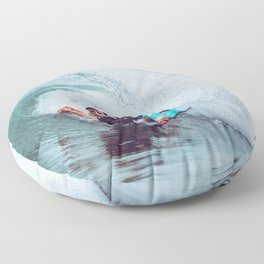 Surf Brazil Floor Pillow