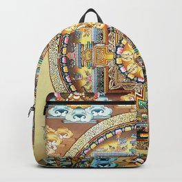 Hindu Buddhist Mandala 20 Backpack