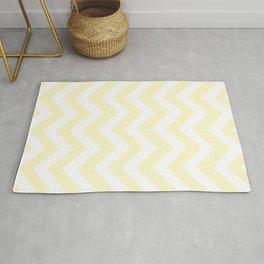 Lemon chiffon - pink color - Zigzag Chevron Pattern Rug