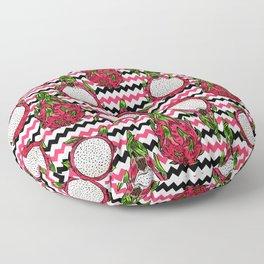 Dragon fruit pattern Floor Pillow
