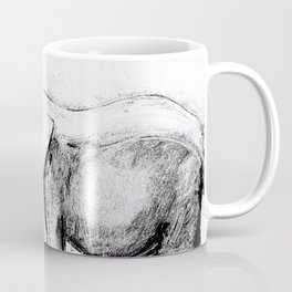 African elephant eating Coffee Mug