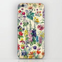 Floral Garden iPhone Skin