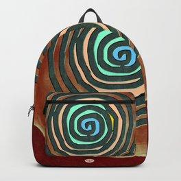 Tribal Maps - Magical Mazes #02 Backpack