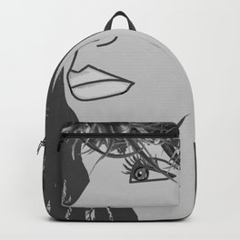 Of Land and Sea in Gray Tones Backpack