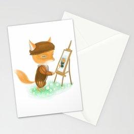 Fox Da Vinci Stationery Cards