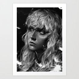 The White Hawk Kunstdrucke